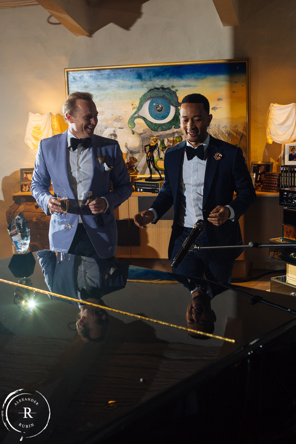 JC Boisset John Legend Celebrity Photographer Alexander Rubin Photography